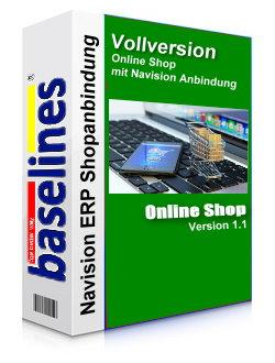 Navision Anbindung und Shop Software